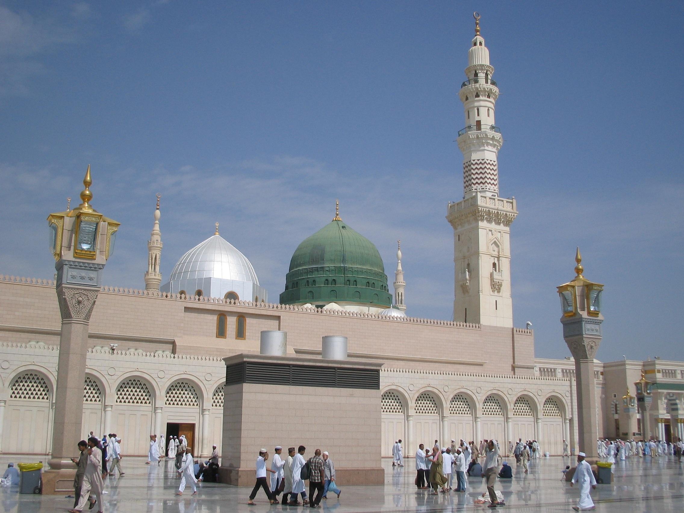Masjid e Nabawi Wallpaper Masjid-e-nabawi
